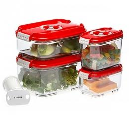 Вакуумні контейнери (харчові) та помпи