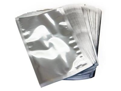 Вакуумний пакет металізований «срібло» 120 х 200 мм