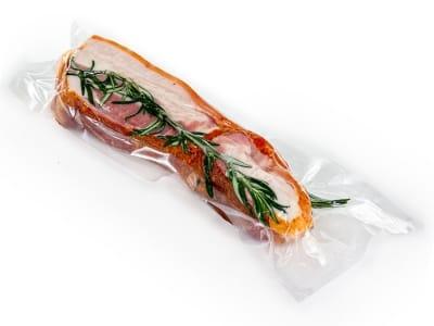 Вакуумный пакет гладкий пищевой 100 х 300 мм