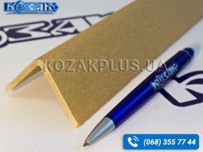 Уголок защитный картонный Г-образный 35 х 35 x 4 х 2000