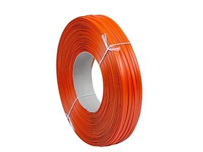 Лента клипсаторная клипбэнд оранжевая 8мм x 0.6мм x 600м