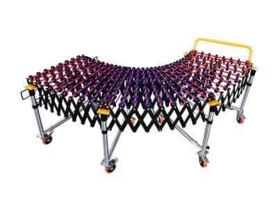 Розтяжний роликовий конвеєр FOYER DPW500/6000