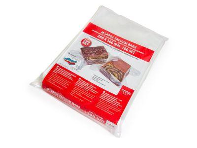 Вакуумний пакет рифлений харчовий Status 280 х 360 мм (преміум, су-вид)
