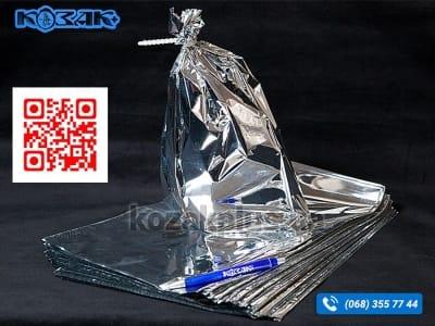 Пакет гриль 350 x 260 мм металізований 350 x 260 мм