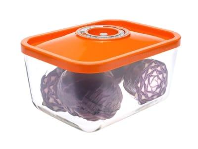 Контейнер вакуумний скляний Status VAC-REC-30 помаранчевий