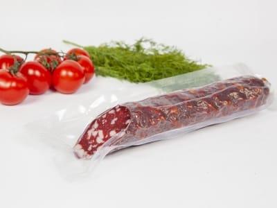Вакуумний пакет гладкий харчовий 120 х 400 мм (100мкм)