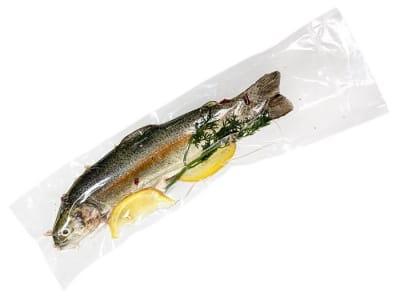 Вакуумний пакет гладкий харчовий 140 х 400 мм
