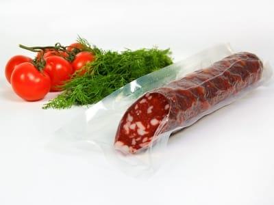 Вакуумний пакет гладкий харчовий 140 х 450 мм (70мкм)