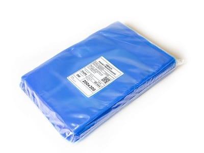Вакуумный пакет гладкий голубой 200 х 300 мм