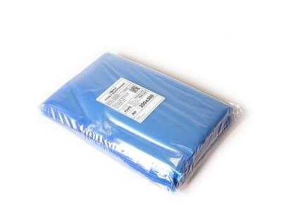 Вакуумный пакет гладкий прозрачный/голубой 200 х 300 мм