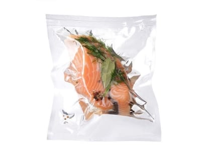Вакуумный пакет гладкий пищевой 200 х 540 мм