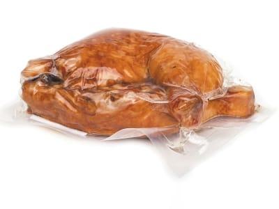 Вакуумний пакет гладкий харчовий 250 х 600 мм (120мкм)