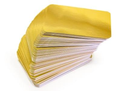 Ламінована підкладка для пакета «золото-срібло»
