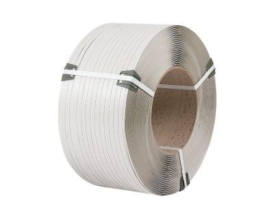 Лента полипропиленовая Polistrap H 12 мм х 0,8 мм х 2300м серая