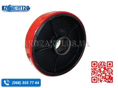 Колесо для тележек 180 х 50 чугун-полиуретан