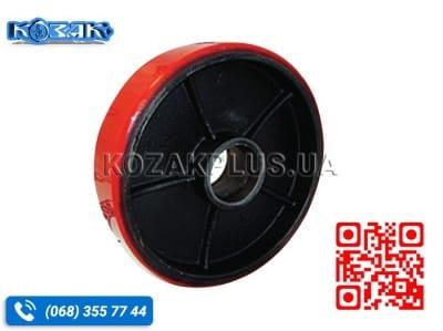 Колесо для візків 200 х 50 чавун-поліуретан