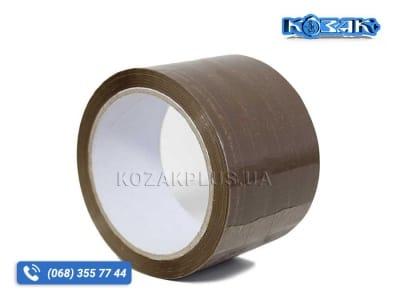 Скотч лента 72мм x 66м х 45мкм, коричневая