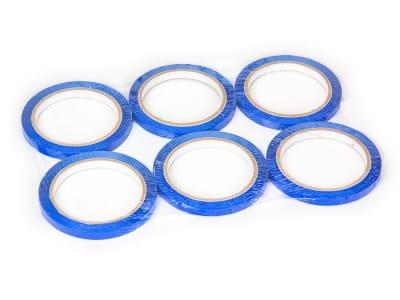 Скотч стрічка для кліпсаторів ПП Superseal 9 мм х 60 м, синя