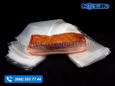 Вакуумний термозбіжний харчовий пакет 90 х 250 мм
