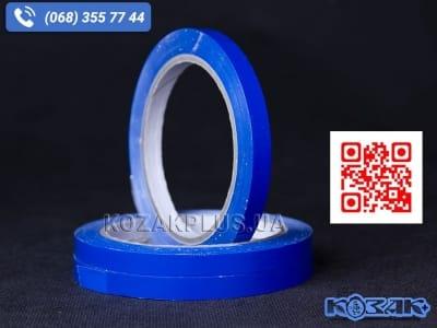Скотч стрічка для кліпсаторів Superseal 9 мм х 60 м, синя
