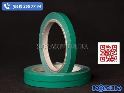 Скотч лента для клипсаторов Superseal 9 мм х 60 м, зеленая
