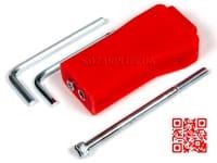 Ручка для мірної вилки (червона)