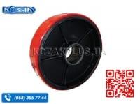 Колесо для тележек 200 х 50 чугун-полиуретан