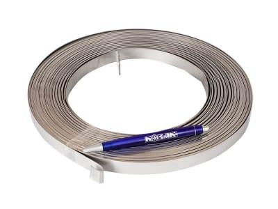 Лента стальная нержавеющая Toolco 15.8 х 0.7 мм